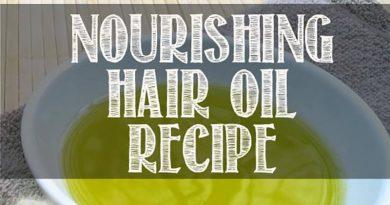Công thức làm dầu dưỡng tóc