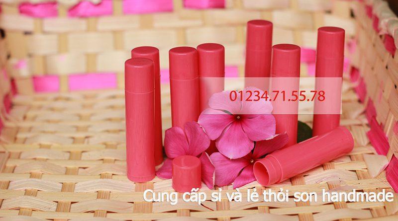 Thỏi son nhựa hồng cơ bản