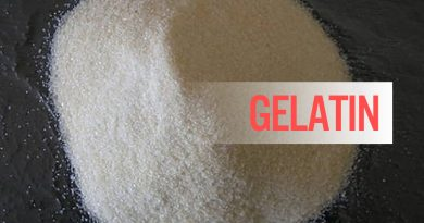 Gelatin chất tạo đặc