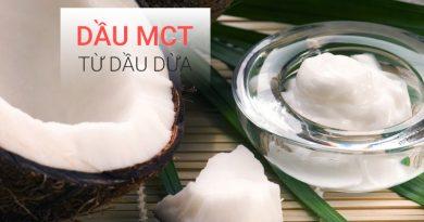 Dầu MCT từ dầu dừa
